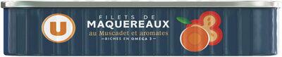 Filets de maquereaux au muscadet et aromates - Product - fr