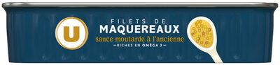 Filets maquereaux à la moutarde ancienne - Product - fr