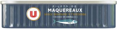 Filets maquereaux moutarde ancienne - Produit - fr