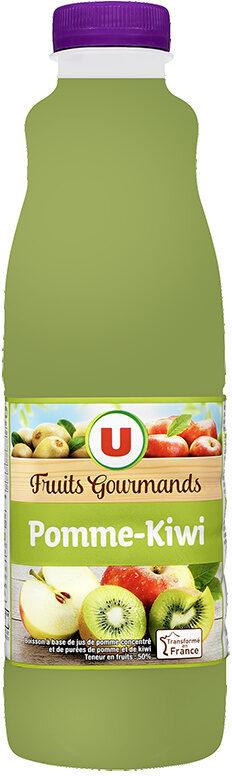 "Jus pomme kiwi ""fruits gourmands "" - Product"
