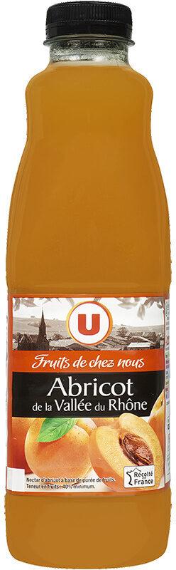 """Jus abricot Vallée du Rhone """"fruits de chez nous"""" - Product"""