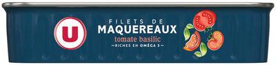 Filets maquereaux sauce tomate basilic - Produit - fr
