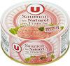 Saumon au naturel sans peau et sans arête - Produit
