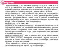 Vacherin glacé vanille framboise - Ingrédients - fr