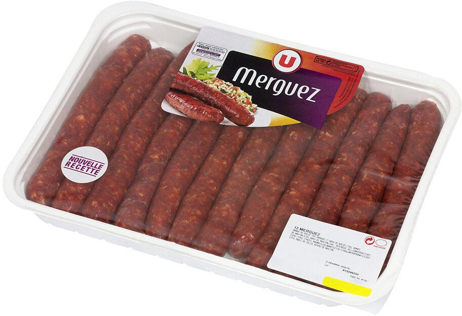 Merguez boeuf mouton - Produit - fr