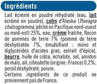 Parmentier de poisson - Ingredients - fr