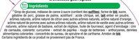 Assortiment de gélifiés et réglisse aromatisés - Ingrédients - fr