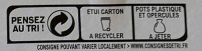 Yaourt aux fruits avec morceaux 0% - Instruction de recyclage et/ou informations d'emballage - fr