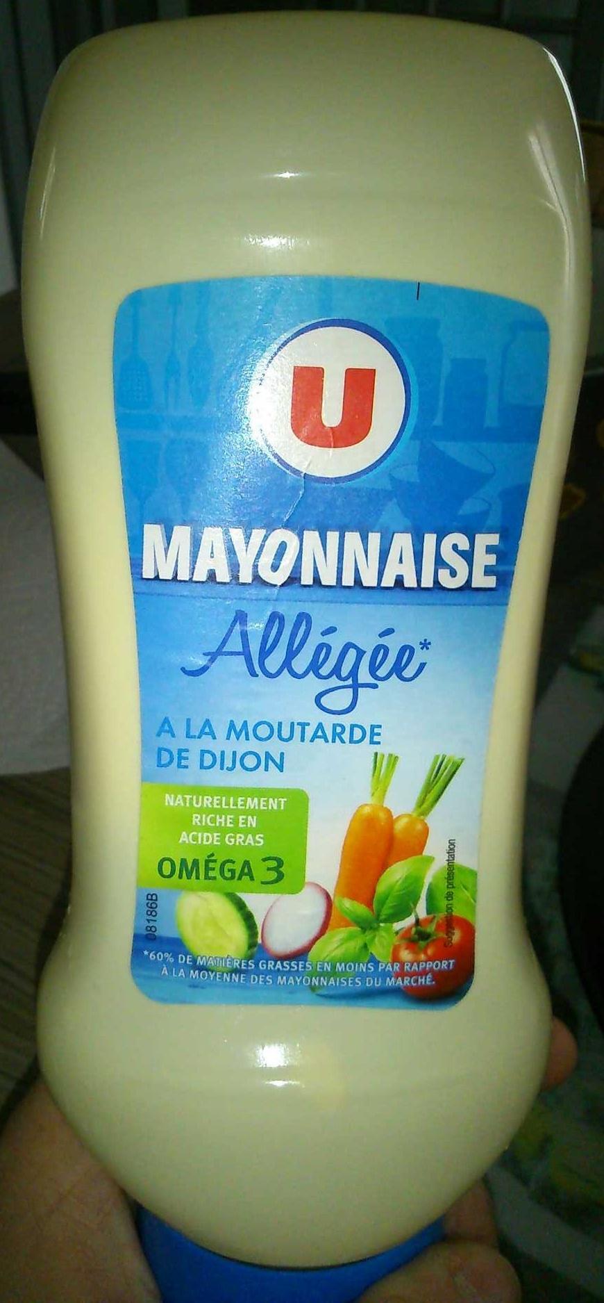 Mayonnaise allégée - Product - fr