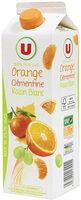 Pur jus réfrigéré orange/clémentine/raisin blanc - Product