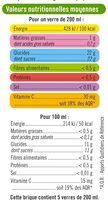 Pur jus réfrigéré orange, clémentine et raisin blanc - Voedingswaarden - fr