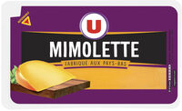 Mimolette au lait pasteurisé 24% de MG - Produit - fr