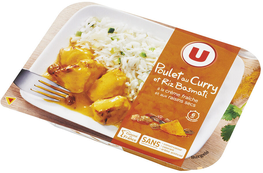 Poulet au curry et riz basmati - Product - fr