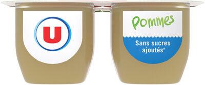 Purée de fruits aux pommes sans sucres ajoutés - Product - fr