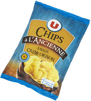 Chips à l'ancienne saveur crème et oignon - Product