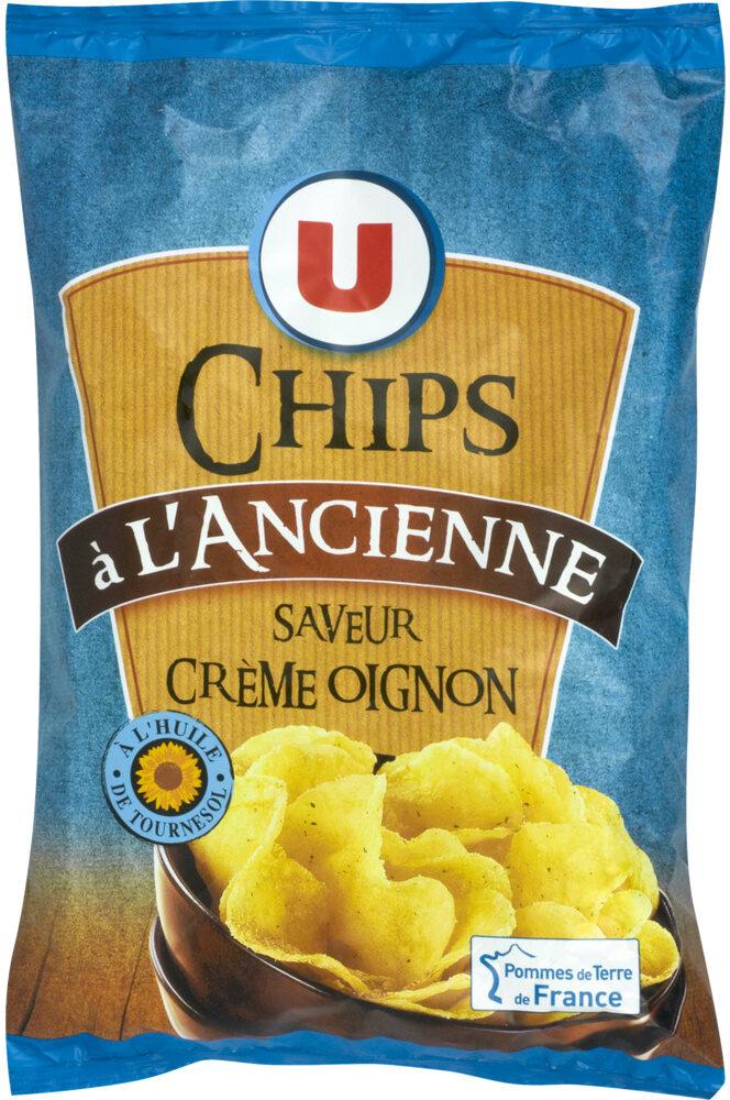 Chips à l'ancienne saveur crème et oignon - Product - fr