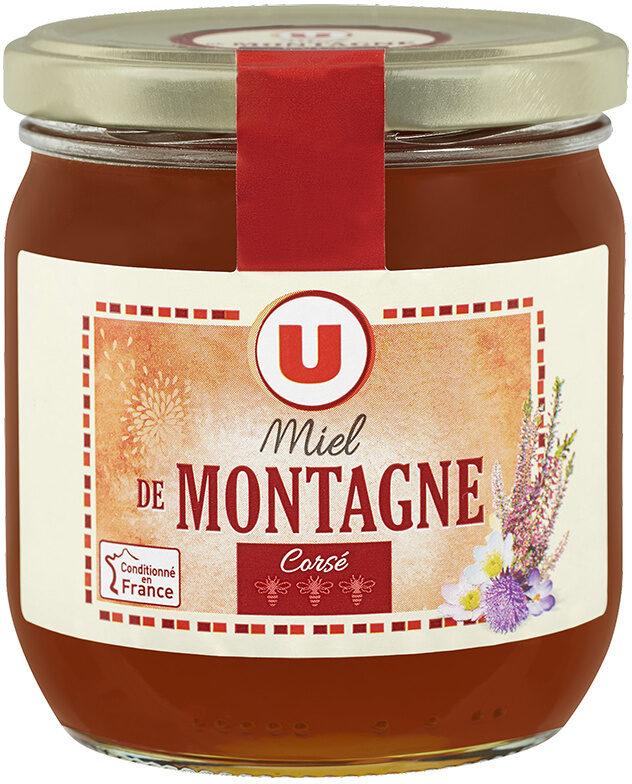 Miel de montagne corsé - Produit