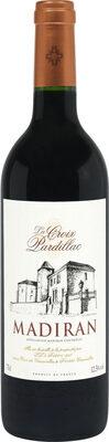 Vin rouge AOC Madiran La Croix Pardillac - Product - fr