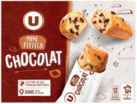 Mini gateaux pépites chocolat - Product - fr