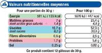 Mini gateaux pépites chocolat - Voedingswaarden - fr
