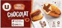 Mini gâteaux marbré chocolat - Produit - fr