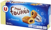 Mini gateaux fourré chocolat - Produit