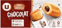 Mini gateaux fourré chocolat - Product - fr