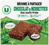 Brownies au chocolat noisettes familial - Produit