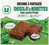 Brownies au chocolat noisettes familial - Product