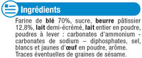 Petit Beurre - Ingredients