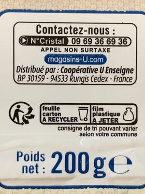 Petit Beurre - Instruction de recyclage et/ou informations d'emballage - fr