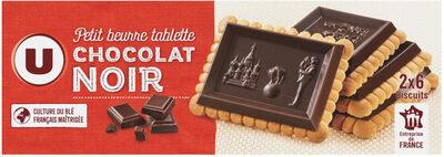 Petit Beurre Tablette Chocolat noir - Produit - fr