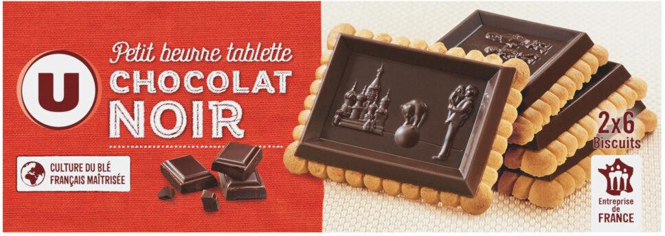 Petit Beurre Tablette Chocolat noir - Product - fr