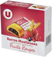 Barres moelleuses fourrées aux fruits rouges - Product