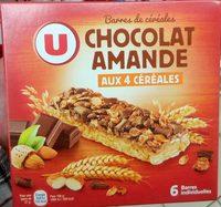 Barres Chocolat Amande aux 4 céréales - Product - fr