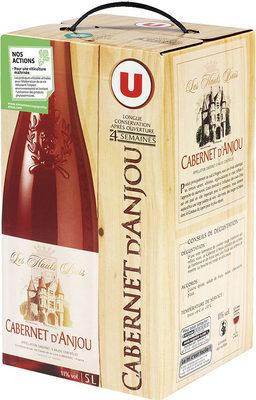 Vin rosé AOP Cabernet d'Anjou Les Hauts Buis - Product