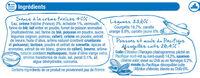 Blanquette de la mer - Ingrédients