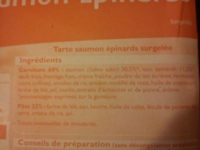Tarte saumon épinards - 3