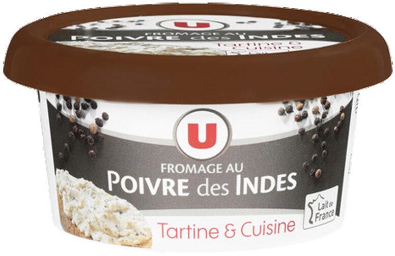 Fromage au poivre au lait pasteurisé 24%MG - Product