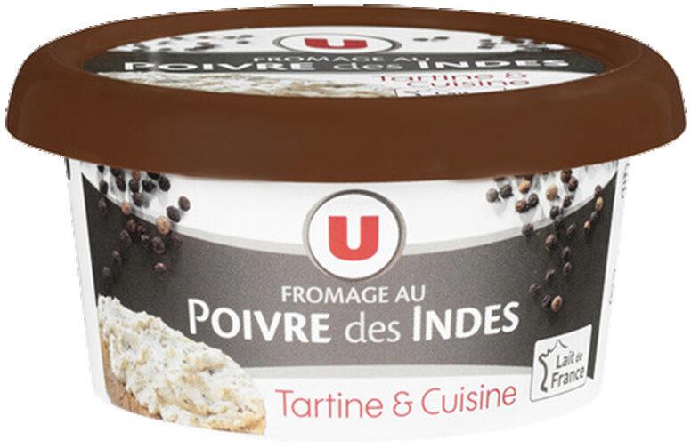 Fromage au poivre au lait pasteurisé 24%MG - Product - fr