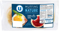 Muffins nature - Product - fr
