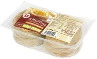 Muffins au blé complet Recette Anglaise - Produit - fr