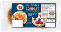 Muffins au blé complet Recette Anglaise - Product - fr