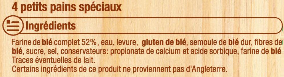 Muffins au blé complet Recette Anglaise - Ingrédients - fr