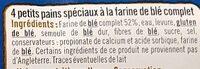 Muffins au blé complet - Ingredienti - fr