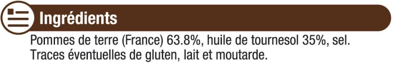 Chips ondulée - Ingredienti - fr