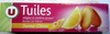 Tuiles saveur citrons - Produit