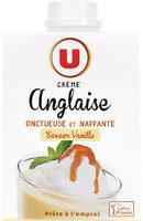 Crème anglaise saveur vanille UHT - Produit - fr