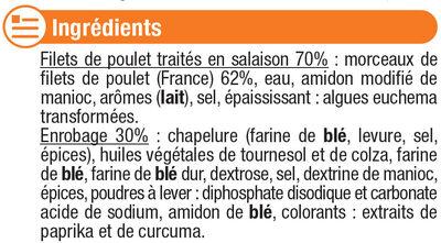 Nuggets de blanc de poulet - Ingredients - fr