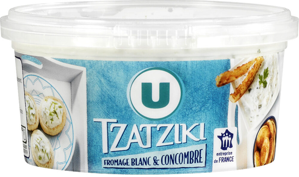 Tzatziki fromage blanc et comcombre - Product - fr